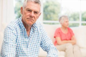 напряжение в пожилой паре