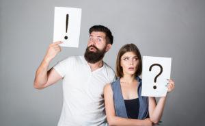 разногласия и вопросы в отношениях