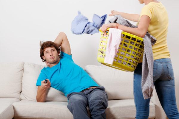 Муж не хочет работать