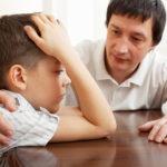 разговор с провинившимся сыном