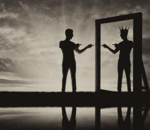 нарцисс перед зеркалом